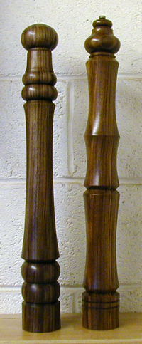 Peppermills in Black Walnut