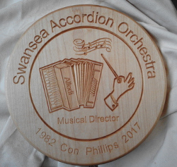 Swansea Accordion Plaque